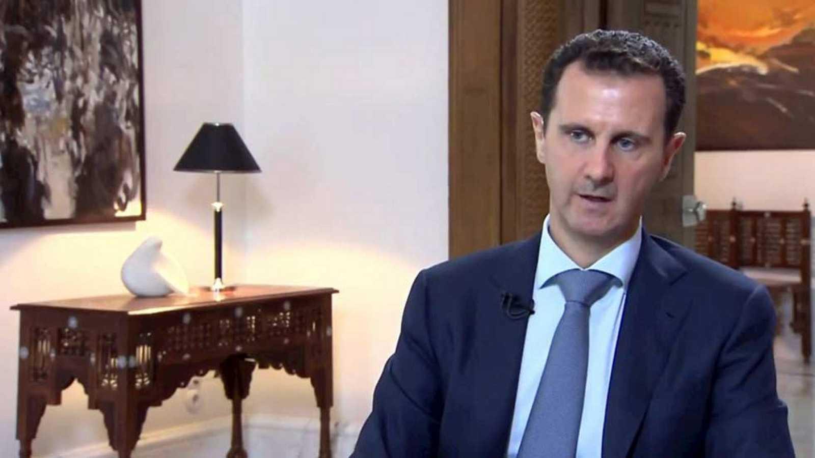Assad reconoce la existencia de una coalición contra el terrorismo formada entre otros por Rusia e Irán