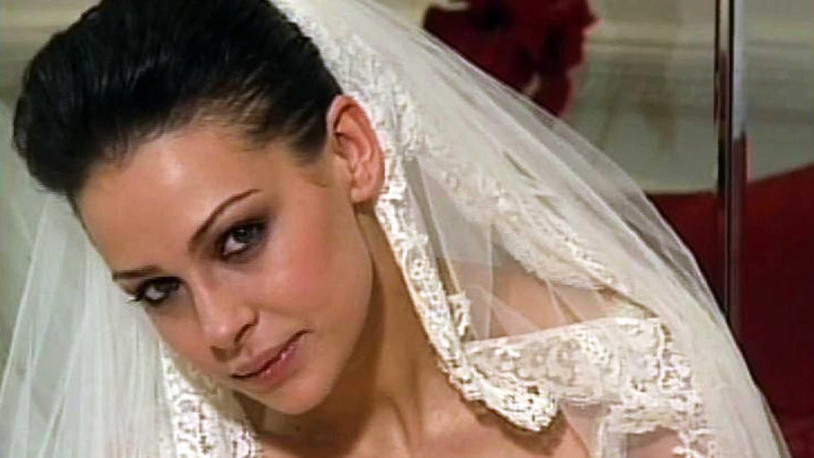 Eva González se casa con un diseño de Pronovias