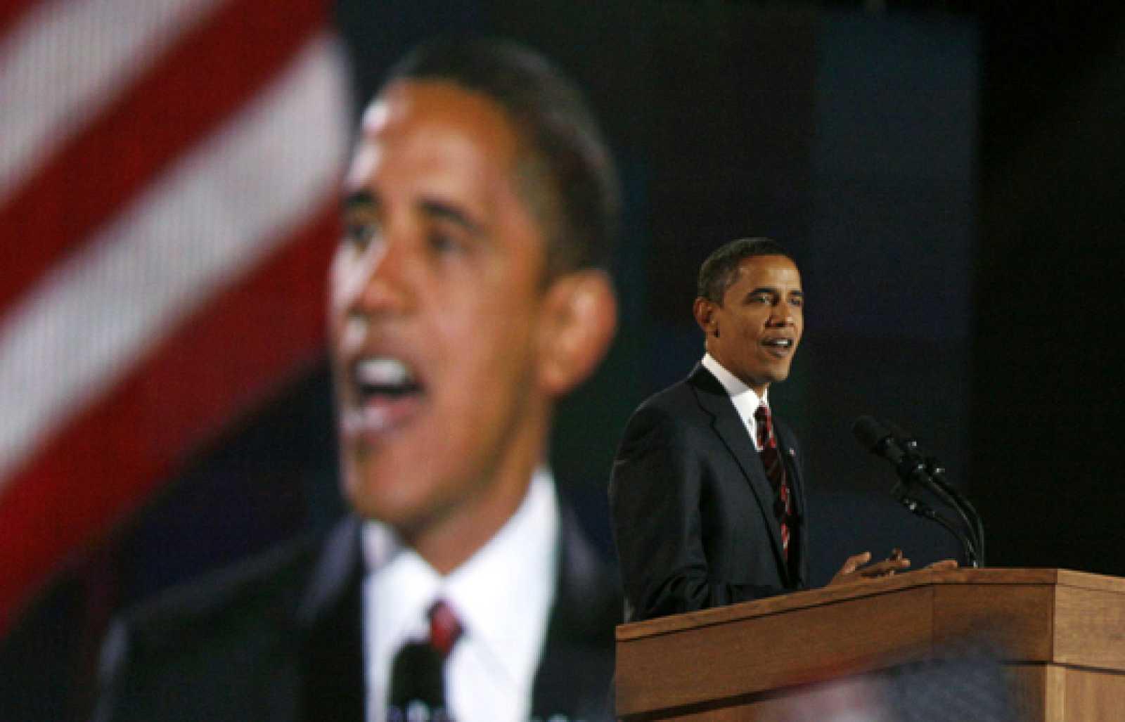 Primer discurso de Barack Obama como presidente de EE.UU.