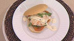 Cocina con Sergio - Hamburguesa de merluza