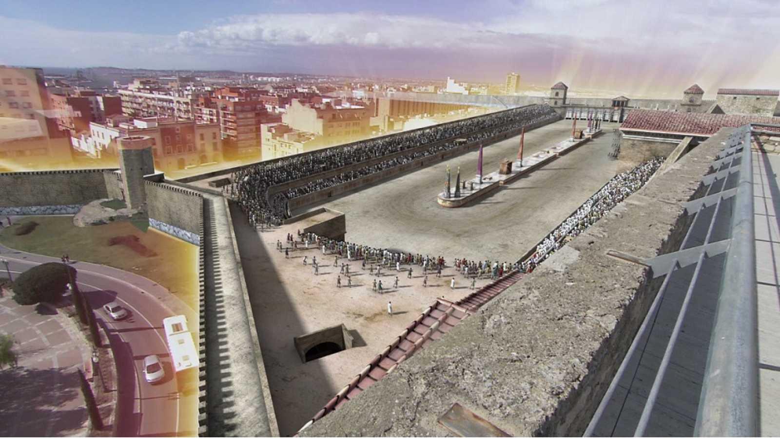 Ingeniería Romana - El circo de Tarraco