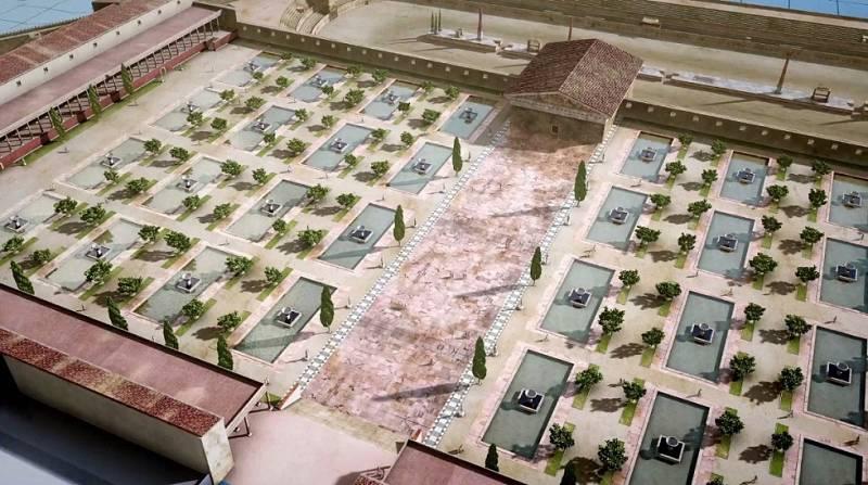 Ingeniería Romana - El foro de la colonia de Tarraco