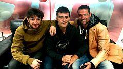Gorka Otxoa, Peris Román y William Miller cuentan por qué hay que ver 'Los miércoles no existen'