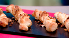 Cocina con Sergio - Escuela de pastelería: Lazitos de hojaldre