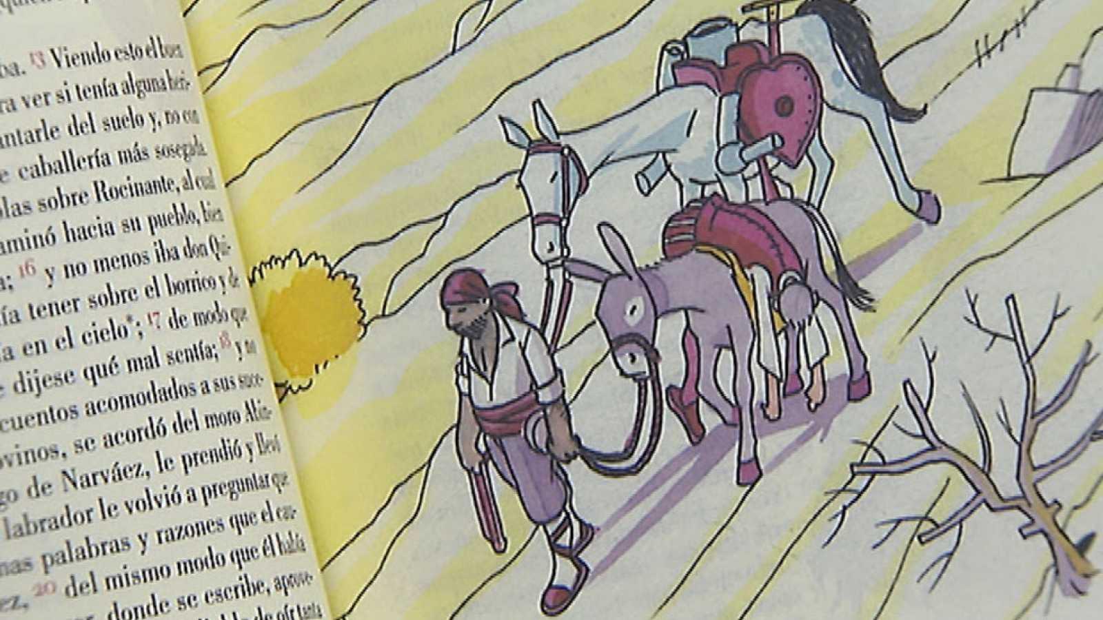 Se presenta una nueva edición de la obra del Quijote con más humor e ilustraciones