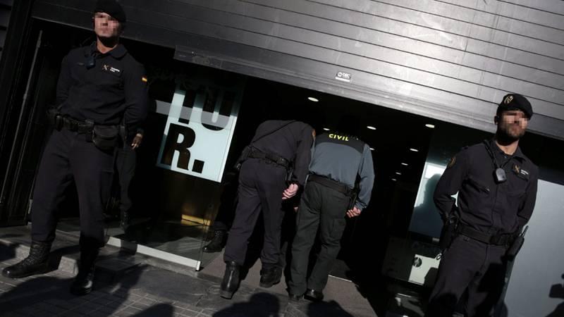 La Guardia Civil registra de nuevo la sede de CDC