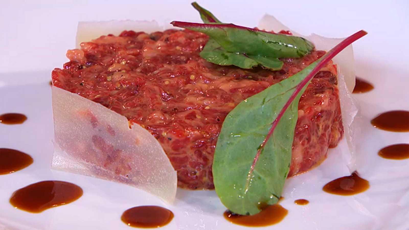 Receta de Steak tartar 'Torres'