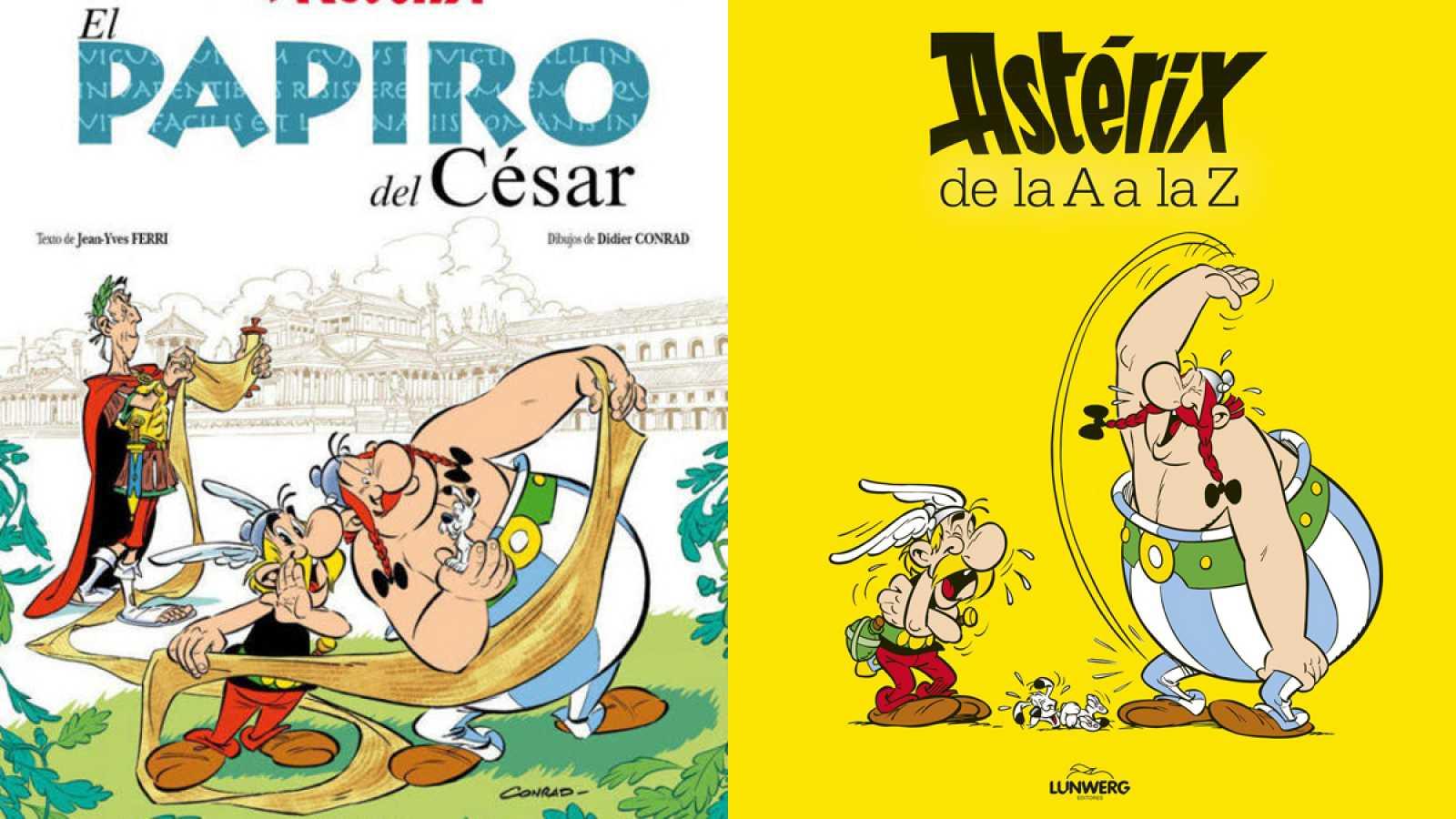 Dos nuevos títulos de Astérix: 'El papiro del César' y 'Astérix de la A a la Z'