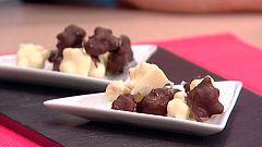 Escuela de pastelería: Palomitas cubiertas de chocolate