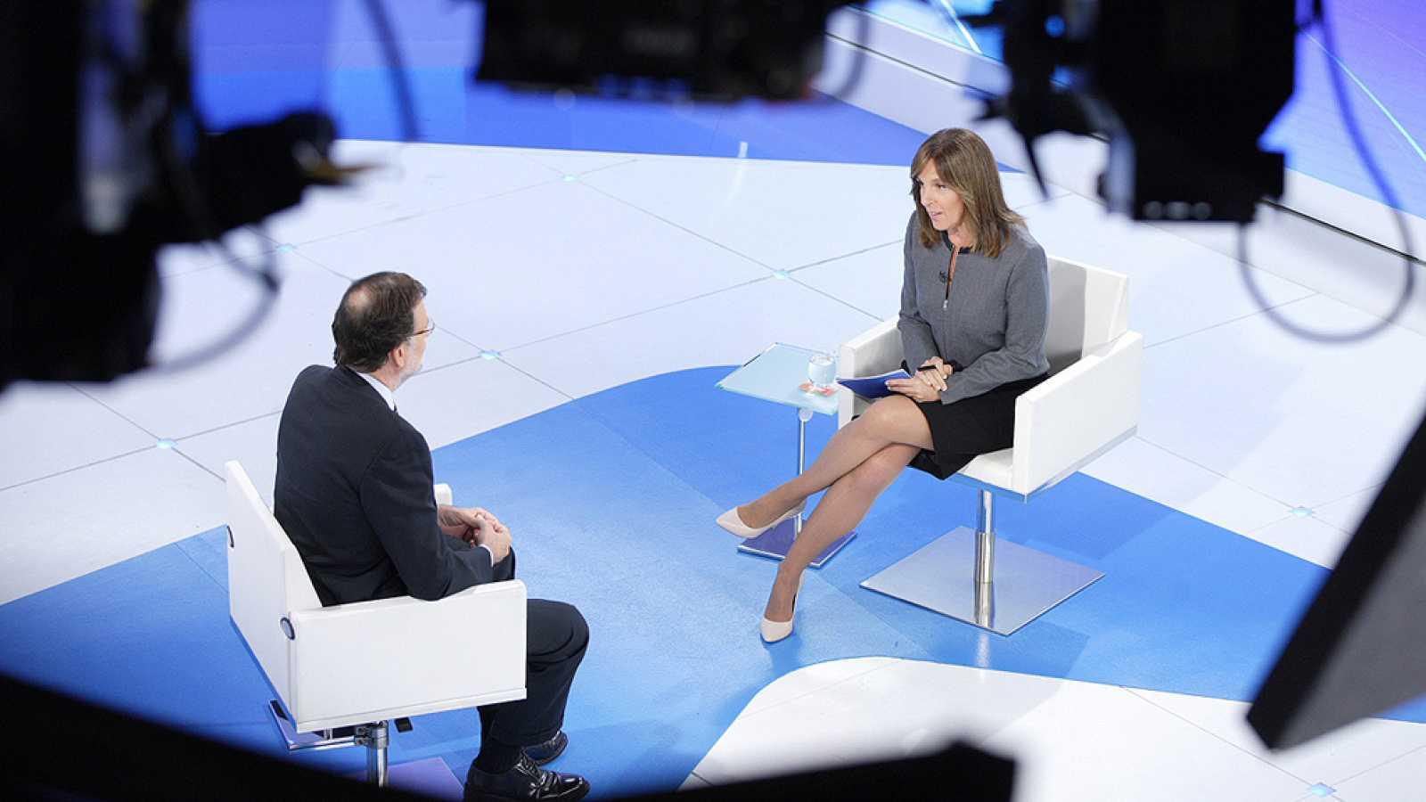 """Rajoy promete """"mano izquierda"""" para evitar una hipotética suspensión de autonomía en Cataluña"""