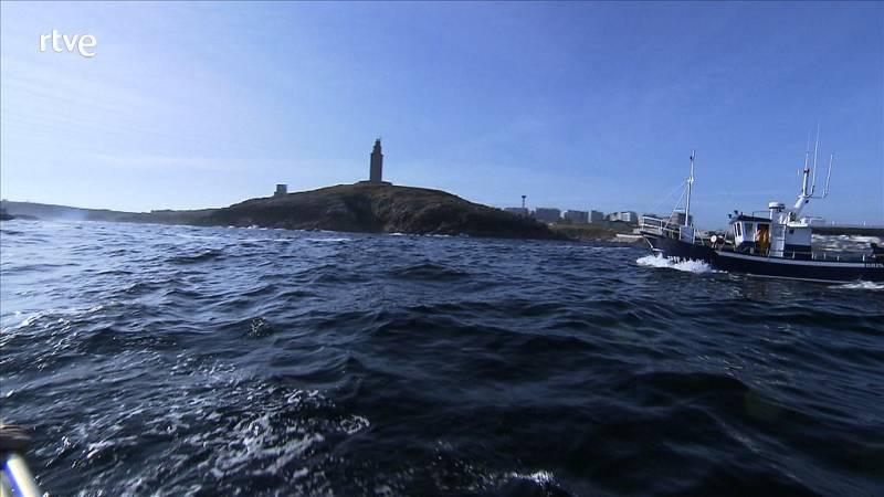 La torre de Hércules, en La Coruña - avance