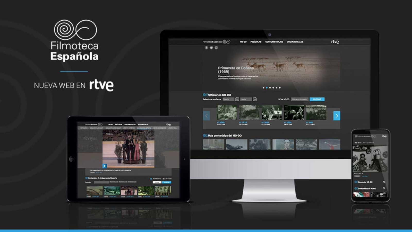 Ya están disponibles en la web de RTVE todos los videos del NO-DO