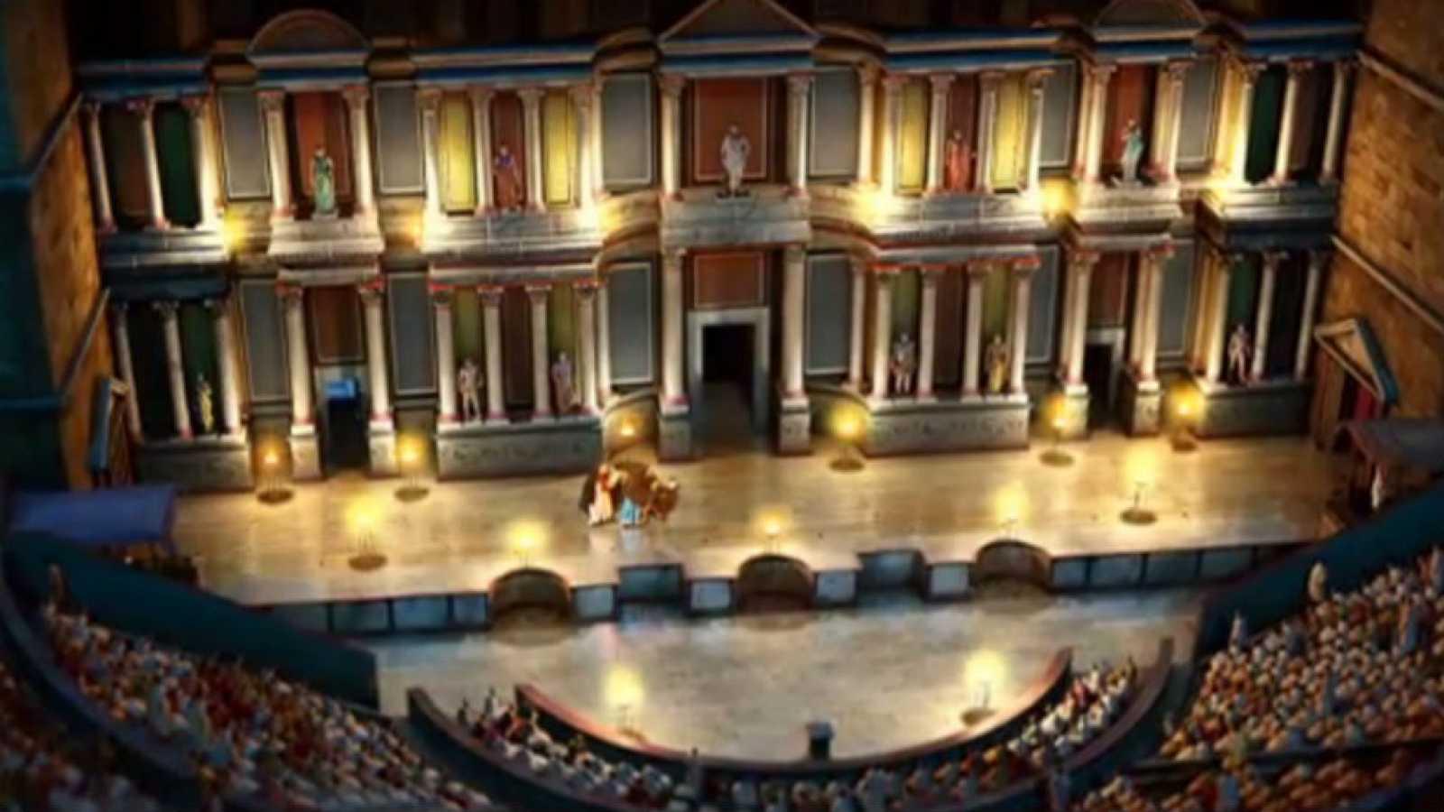 Ingeniería Romana - El teatro de Cartagena