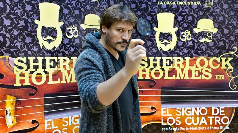 """Ficción sonora - Sergio Peris-Mencheta: """"Benedict Cumberbatch es un crack como Sherlock Holmes"""" - Ver ahora"""