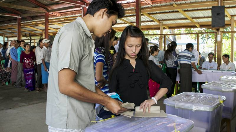 Elecciones cruciales en Birmania para establecer los cimientos de la democracia