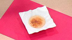 Escuela de pastelería: Crema de pera caramelizada