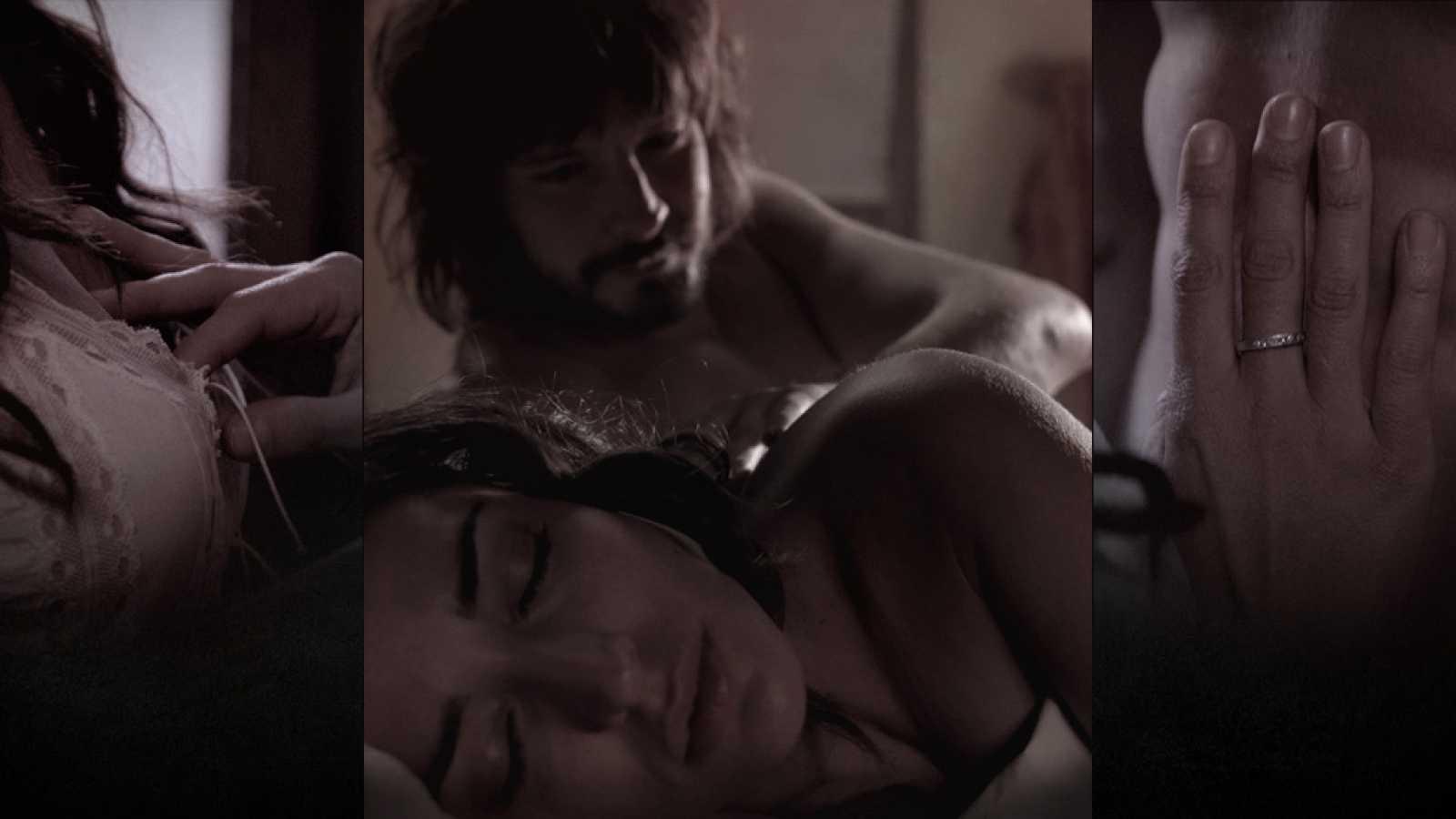 Águila Roja - La noche de sexo de Gonzalo y Margarita