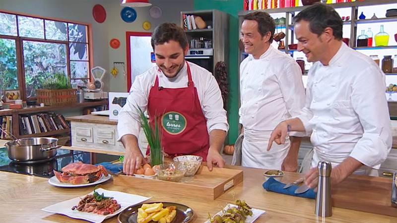 Reto Torres: ¿Qué cocinamos con huevos y txangurro?