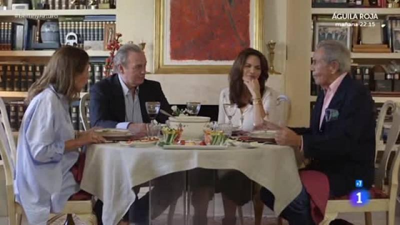 En la tuya o en la mía- Carmen se emociona al hablar de los hijos de Arturo Fernández