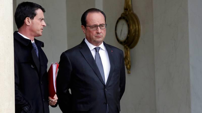 """Hollande culpa al Estado Islámico del """"acto de guerra"""" en París y afirma que Francia será """"implacable"""""""