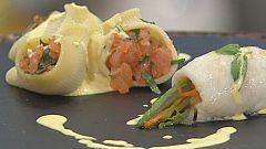Cocina con Sergio - Gallo al azafrán