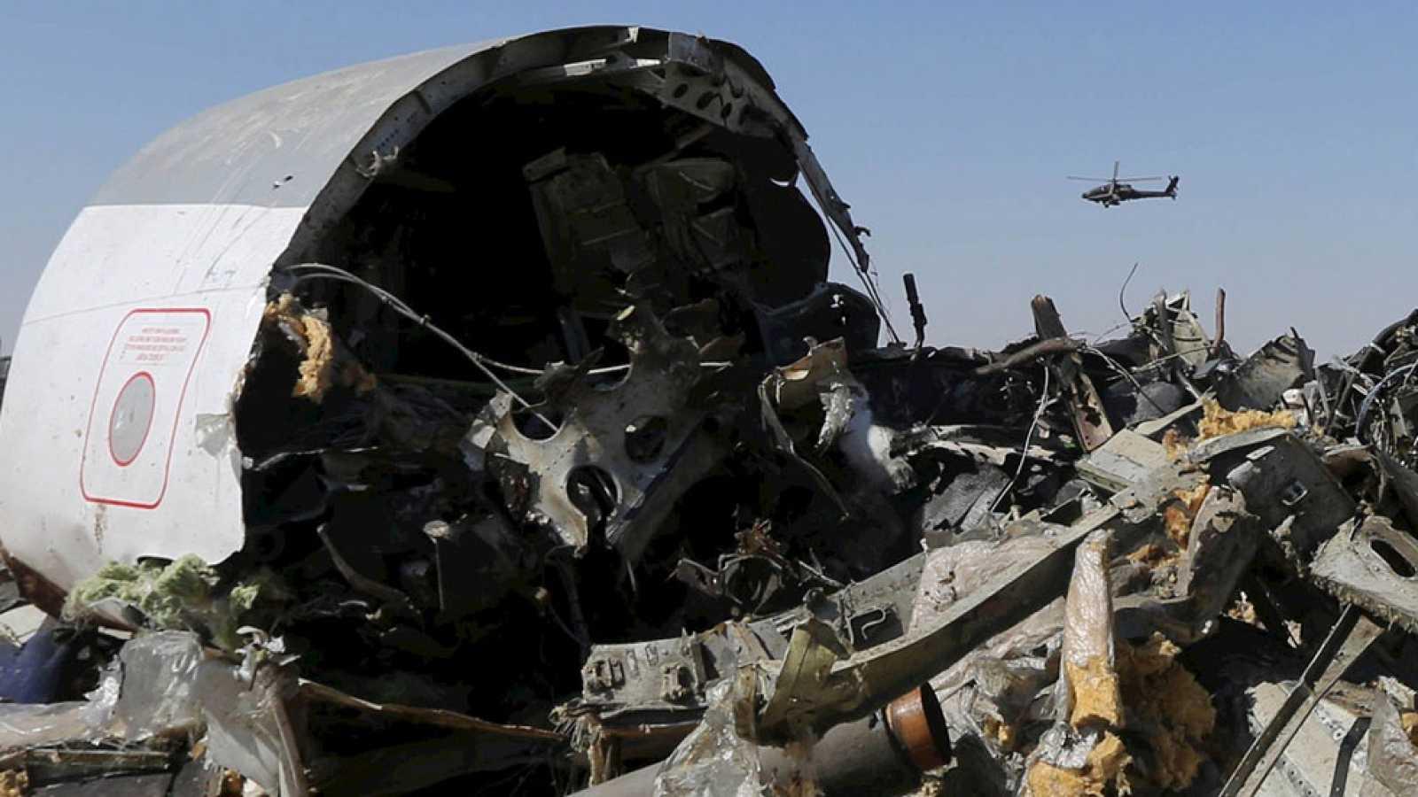 """Rusia confirma que el accidente de avión en el Sinaí fue un """"acto terrorista"""""""