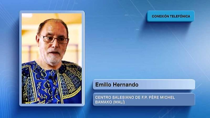 Los misioneros españoles que viven en Bamako no se plantean volver