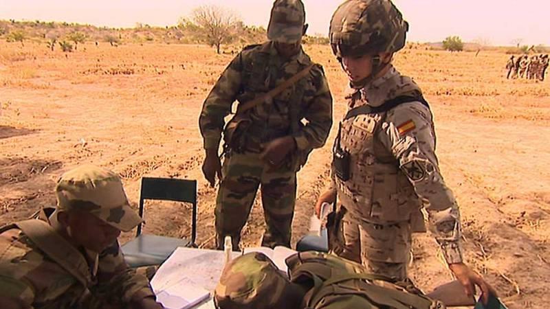 En Mali 110 militares españoles que se encargan de adiestrar a los soldados del nuevo Ejercito maliense