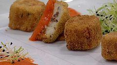 Cocina con Sergio - Croquetas de cecina y setas