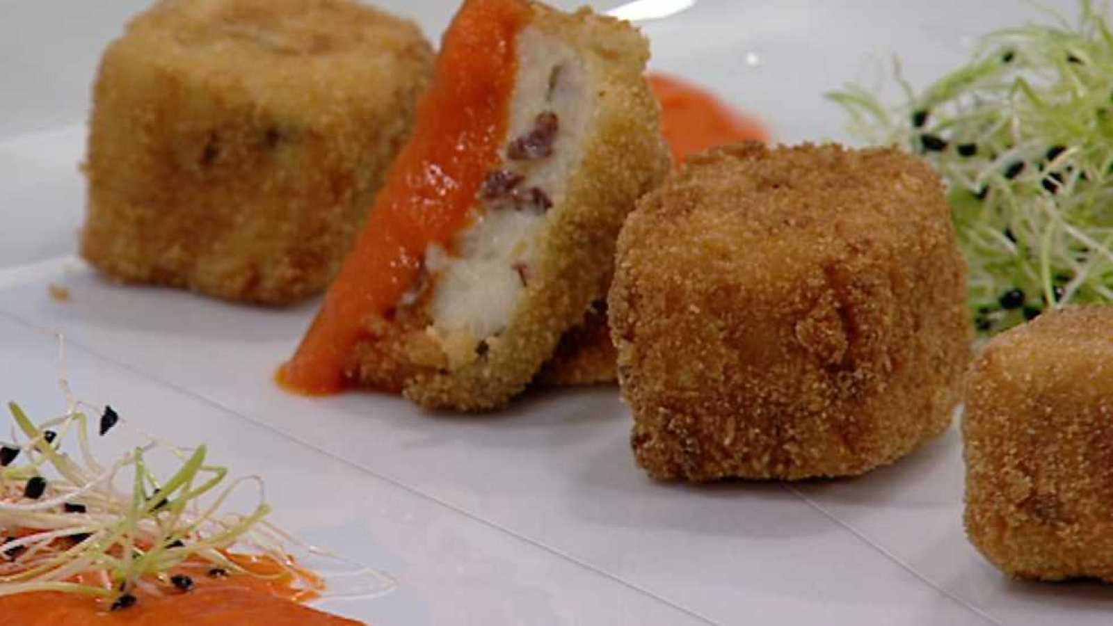 Cocina con Sergio - Croquetas de cecina y setas - ver ahora