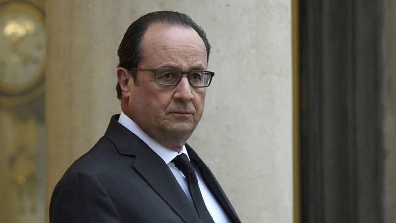 Hollande intenta forjar una amplia coalición internacional para destruir las bases del Estado Islámico