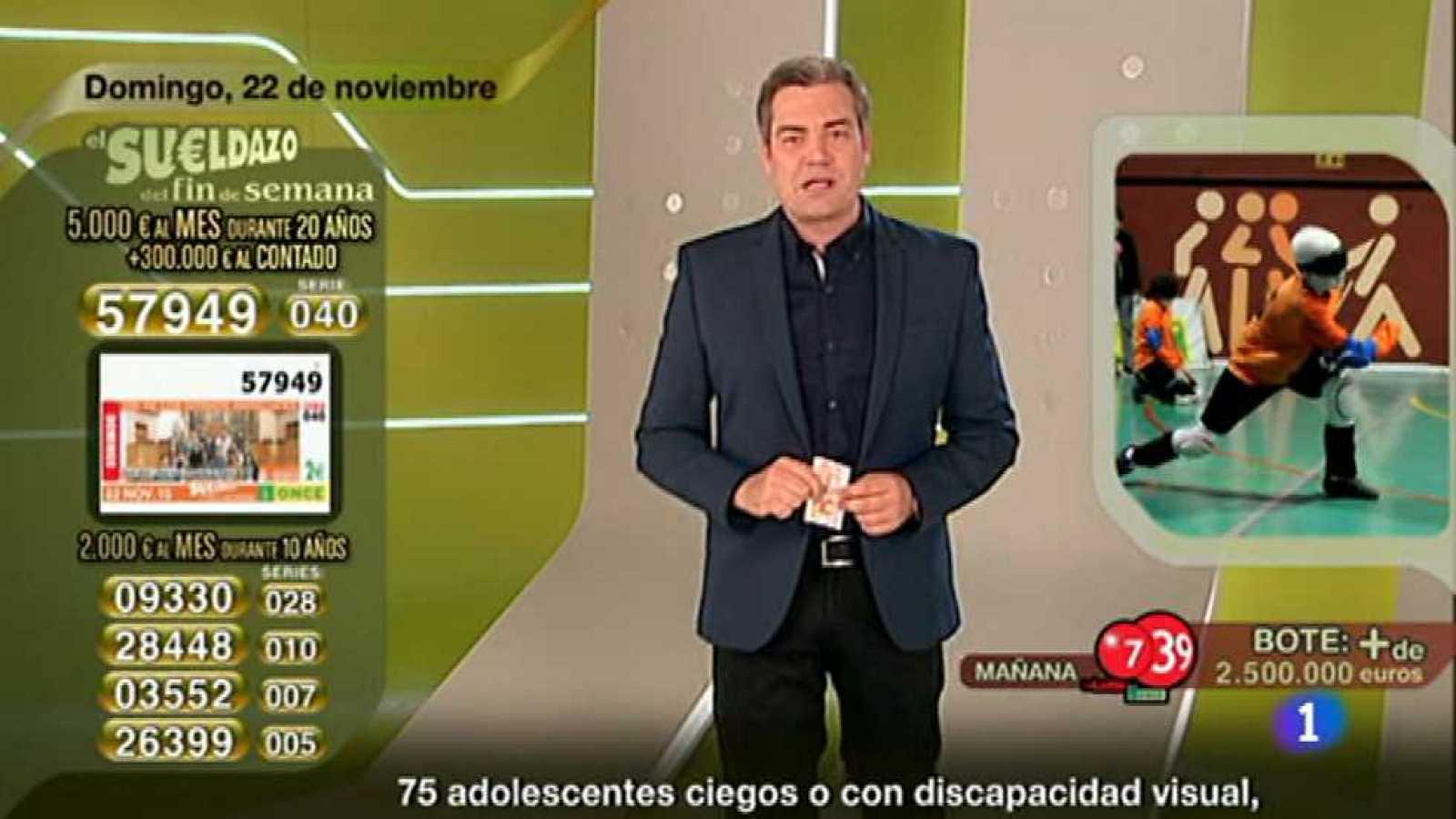 Sorteo ONCE - 22/11/15 - ver ahora