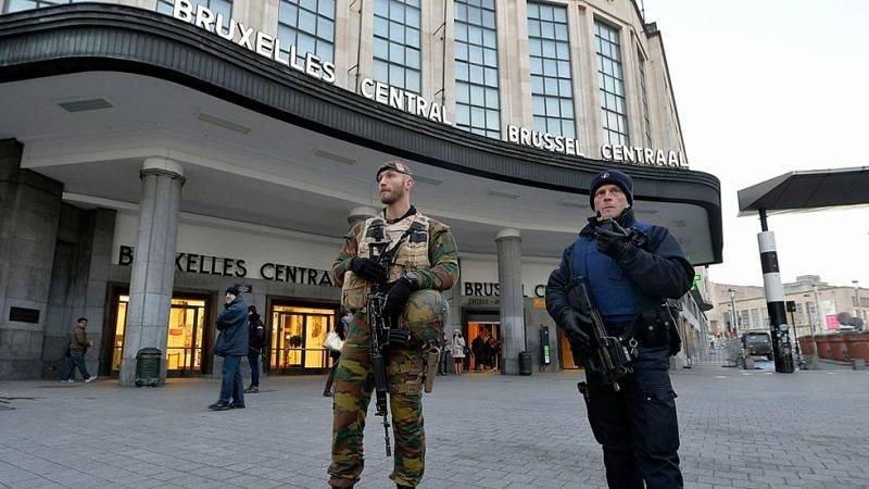 Atentados en París: Bruselas continúa en máxima alerta antiterrorista por tercer día consecutivo