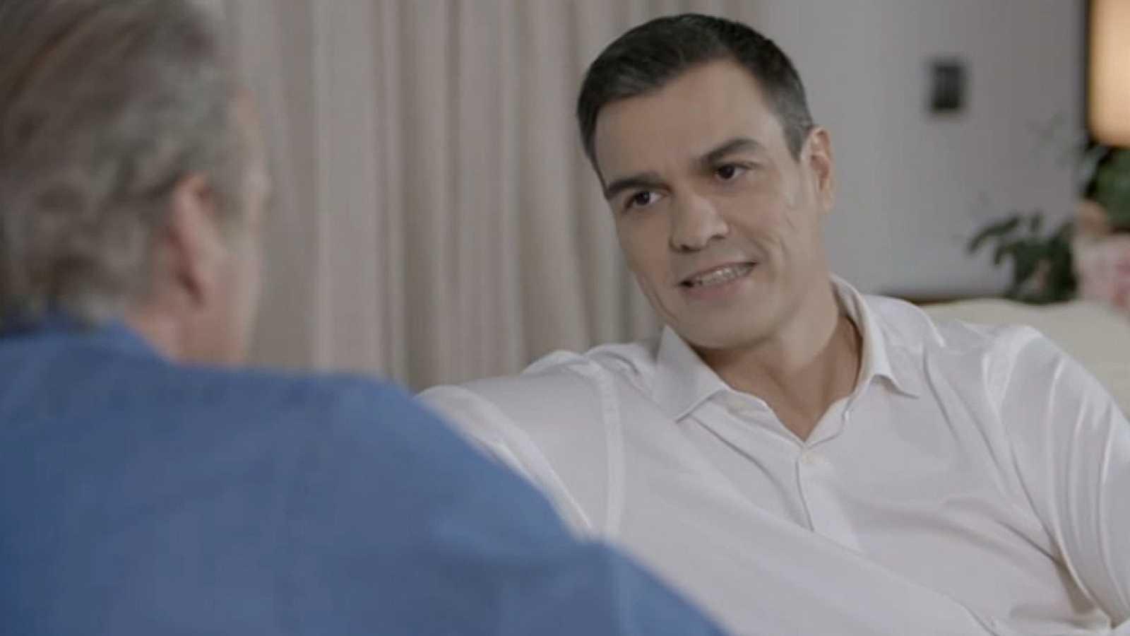 Pedro Sánchez visita la casa de Bertín Osborne en 'En la tuya o en la mía'