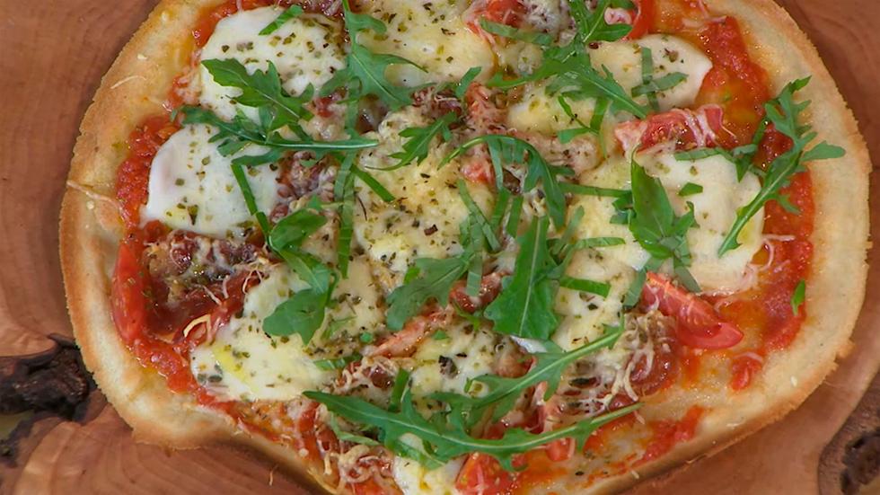 Receta pizza para 2 personas