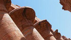 'Espacio en blanco', en el Templo de Luxor