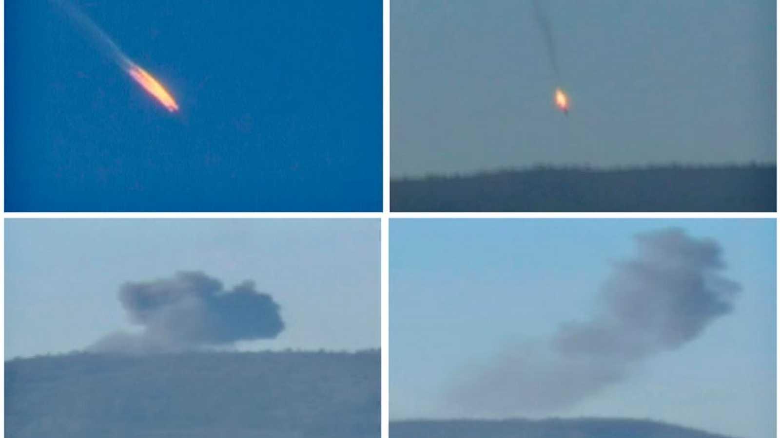 Turquía derriba un avión ruso de la campaña en Siria y la tensión se dispara entre ambos países