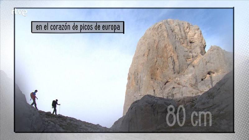 80cm  - Picos de Europa - Avance