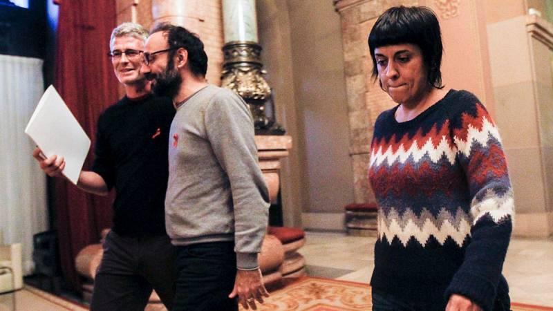 Convergència ve un error llevar la cuestión catalana a los tribunales y la CUP llama a la desobediencia