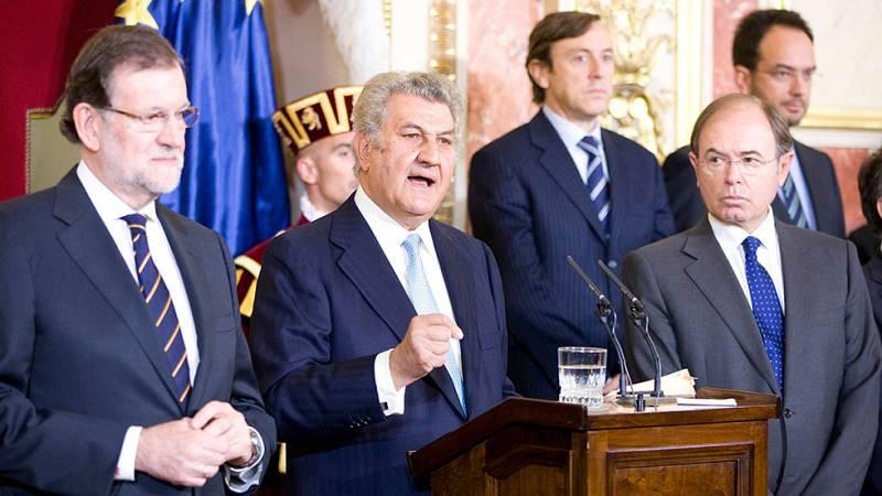 Homenaje de los políticos y candidatos a la Constitución, en plena campaña electoral