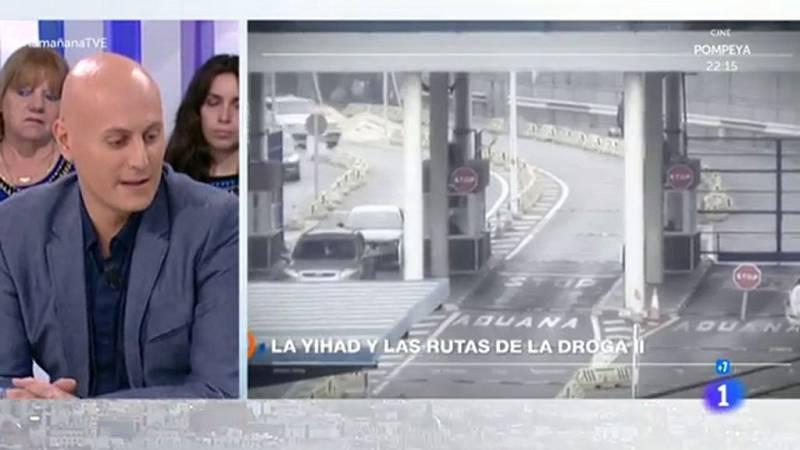 La mañana - Esta noche, 'Teleobjetivo' analiza el vínculo yihadista con las rutas de la droga