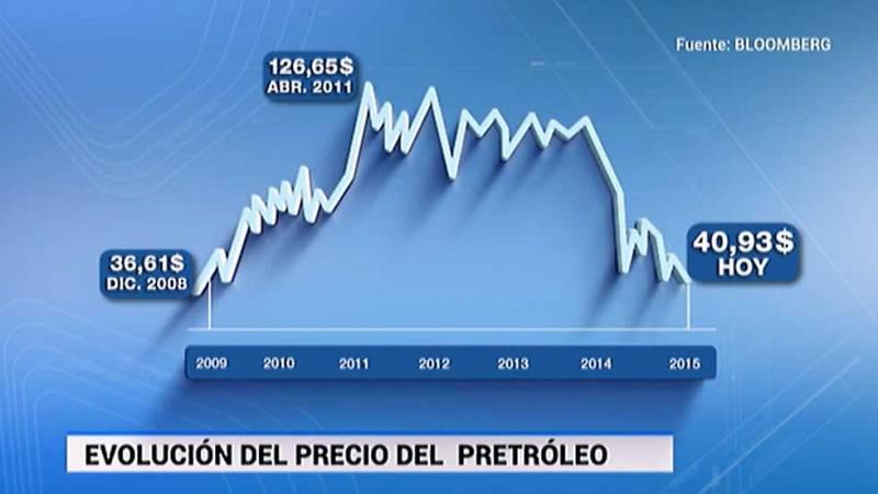 Los precios del petróleo siguen cayendo