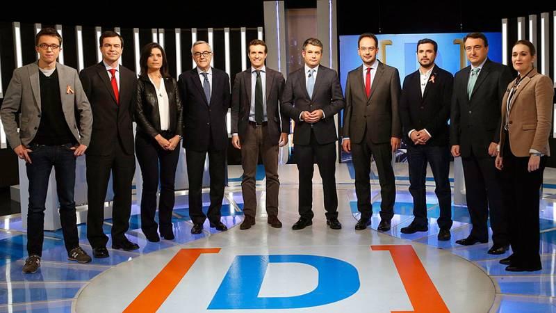 La economía y las políticas sociales centran el debate a nueve