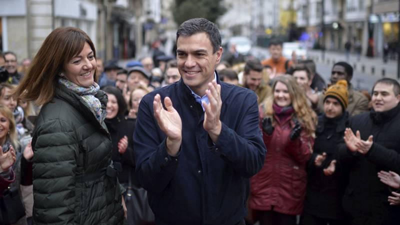 El candidato socialista ha pedido el voto para terminar con la legislatura de la corrupción