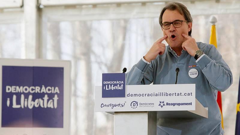 """Mas pide """"no seguir el juego"""" a una coalición PP-Ciudadanos que iría contra Cataluña"""
