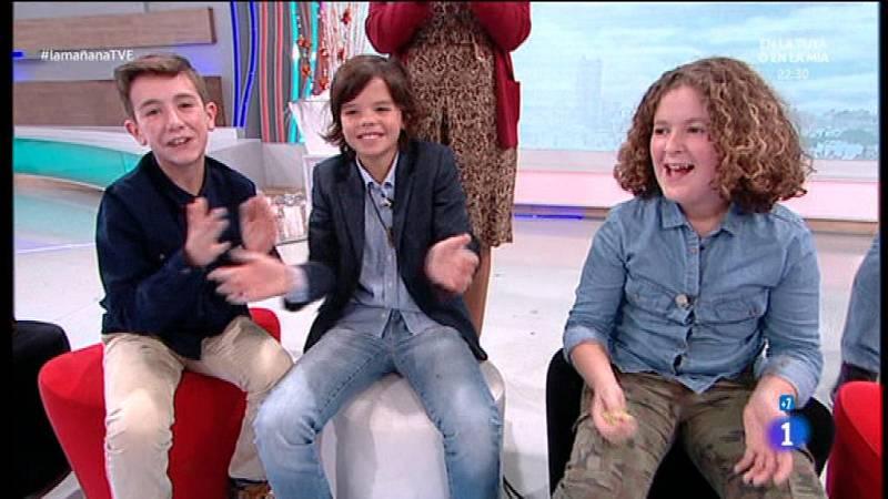 Cova, Mauro y Bruno en 'La mañana'