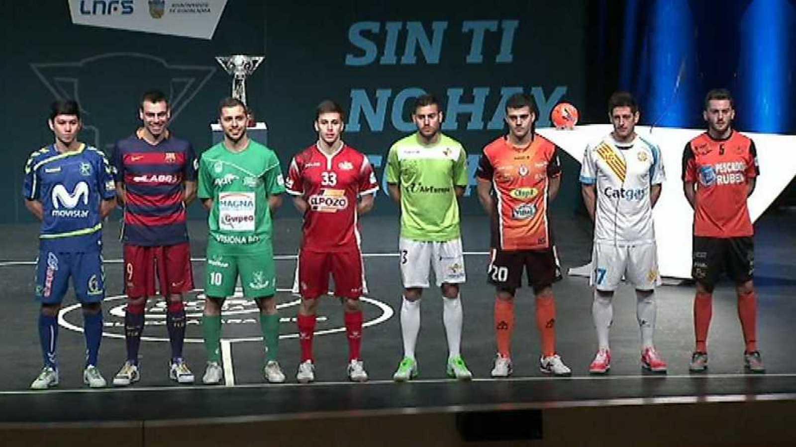 Fútbol Sala - Sorteo Copa de España 2016 - ver ahora