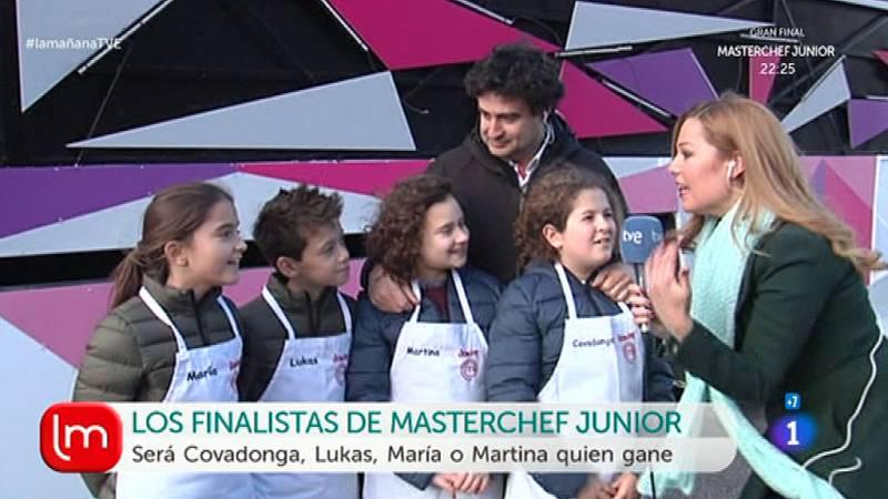 La mañana - Esta noche, 'Masterchef Junior' y cabalgata de Reyes