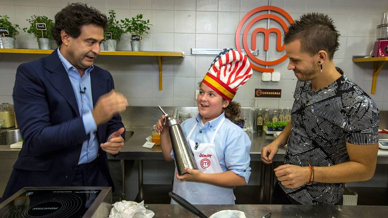 "MasterChef Junior 3 - ""Hello, I'm Covadonga. Hello, thank you, bye"""