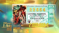 Lotería del Niño 2016
